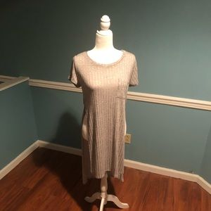 NWT Dance & Marvel Gray Tunic Top Side Slits